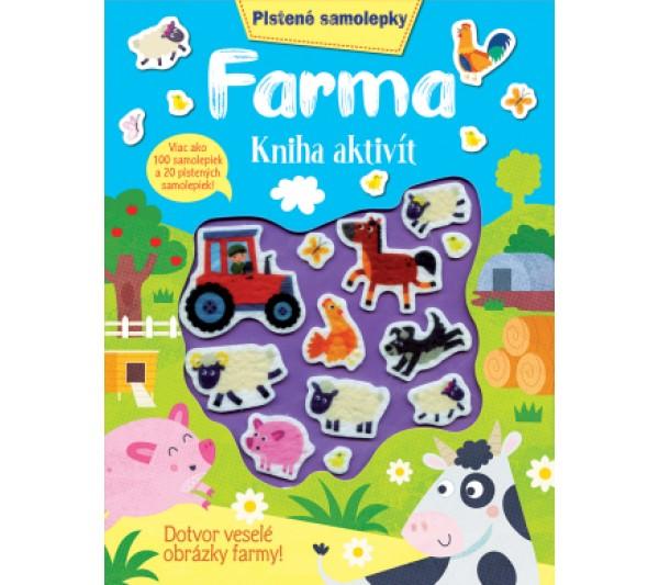 Plstené samolepky Farma kniha aktivít