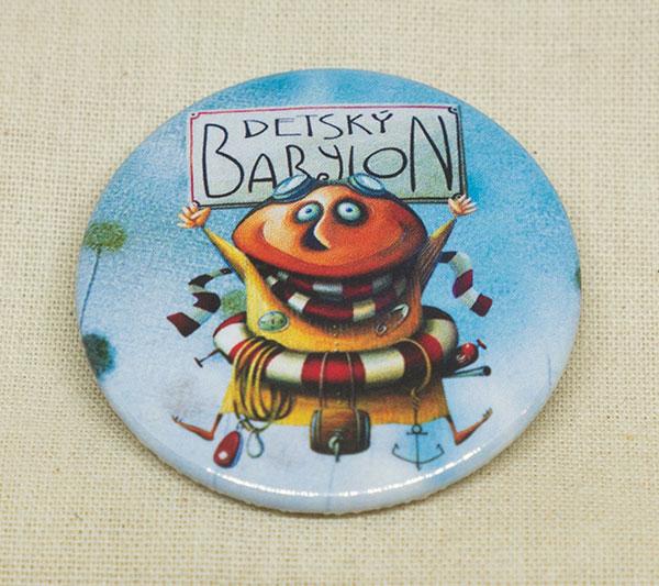 Odznak - Babylončan - modrý