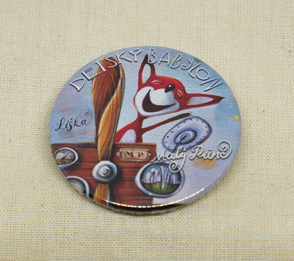 Odznak - Líška