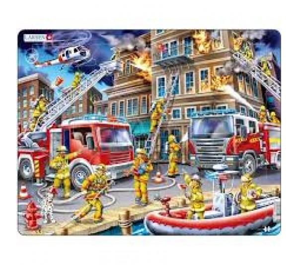 Puzzle Larsen - Požiarnici US21