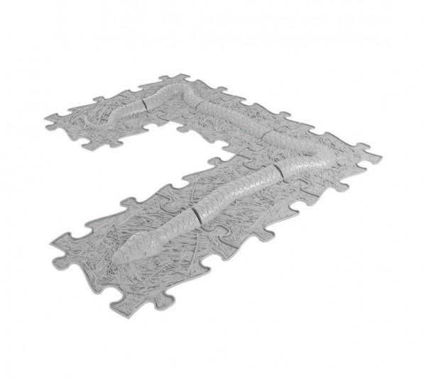 Set ortopedických podláh- Had set sivá
