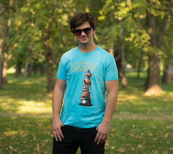 Pánske tričko Detský Babylon