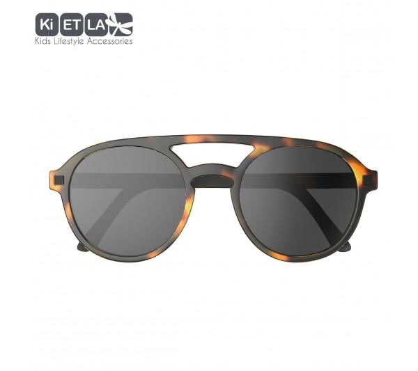 KiETLA CraZyg-Zag slnečné okuliare PiZZ 9-12 rokov, ekail