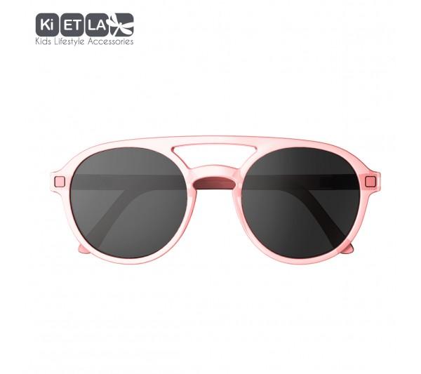 KiETLA CraZyg-Zag slnečné okuliare PiZZ 9-12 rokov, pink