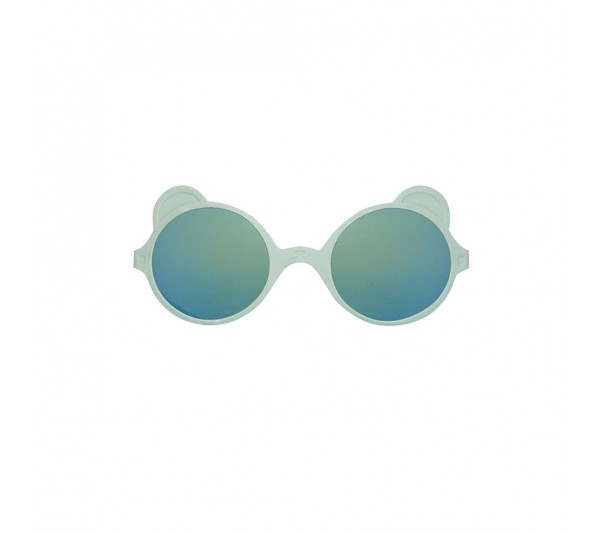 KiETLA slnečné okuliare OURS'ON 1-2 roky, almond-green