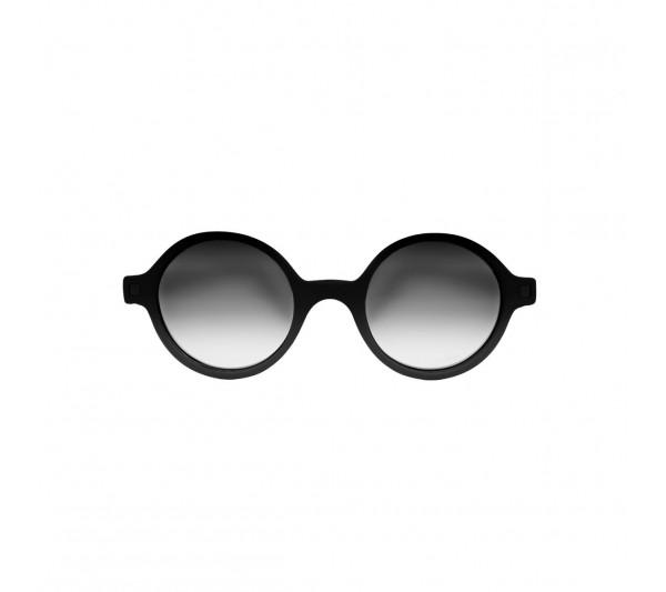 KiETLA CraZyg-Zag slnečné okuliare RoZZ 4-6 rokov, čierne zrkadlovky